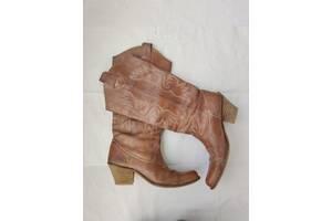 Шкіряні чоботи жіночі козаки купити київ - розпродаж гардероба