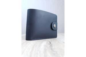 Кожаный мужской кошелек ROMIO (CCHB-2020) Черный