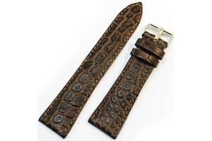 Кожаный ремешок для часов Mykhail Ikhtyar коричневый
