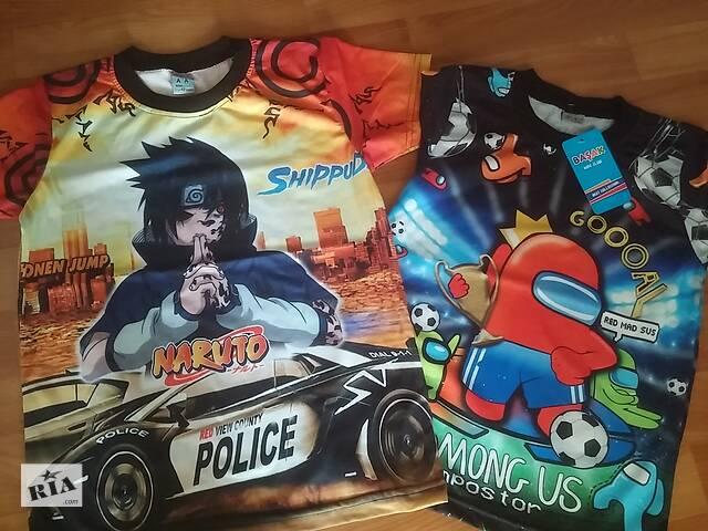 продам Красивые  футболки   на спинке рисунок  Турция. бу в Лисичанске