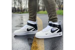 Кроссовки высокие Nike Air Force Найк Аир Форс (45 последний размер)