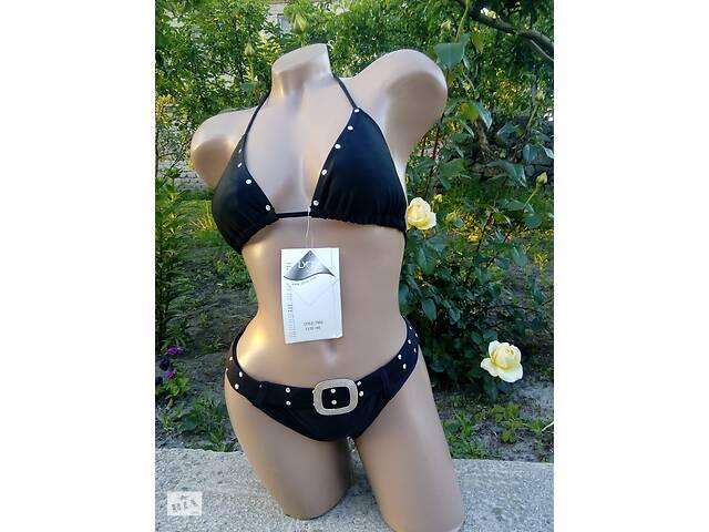 купить бу Купальник женский раздельный черный в Каменском (Днепродзержинск)