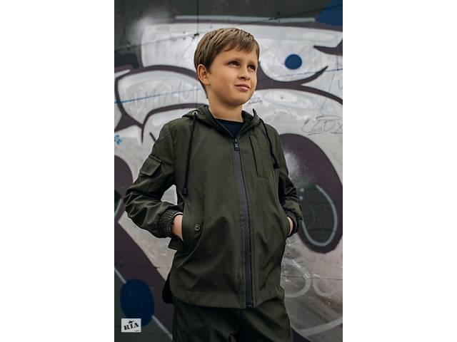 бу Куртка для мальчика хаки демисезонная Softshell Easy SKL59-291145 в Киеве