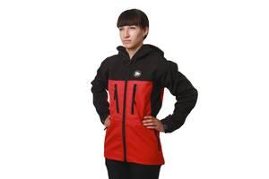 Куртка Fram-Equipment SoftShell Ice-C XXL червоний-чорний (16051740)