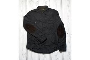 Куртка муж. Massimo Dutti, XL, двухсторонняя (черный+коричневыйквадр)