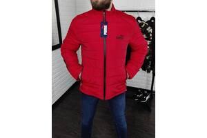 Куртка мужская Puma демисезон красная