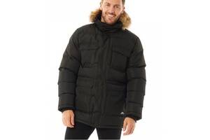 Куртка парку Trespass Waterproof Parka Black Black