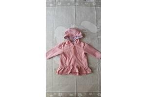 Куртка розовая осень