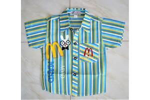 Летняя рубашка тениска 2-5 лет