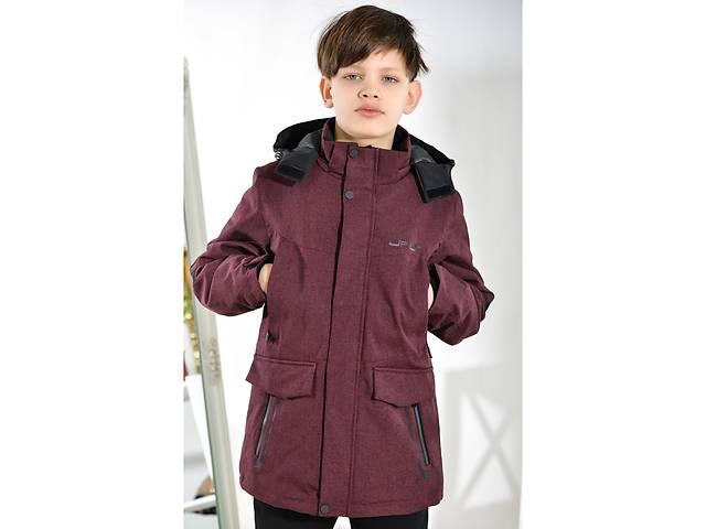 продам Мембранная демисезонная термо-куртка на мальчика весна-осень 8-13 лет бу в Мариуполе