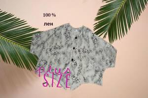 ML Original 100% Лен ПОГ 96 Шикарная накидка куртка в бохо стиле Германия