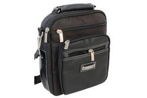 Мужская барсетка, сумка  Wallaby 854 черная
