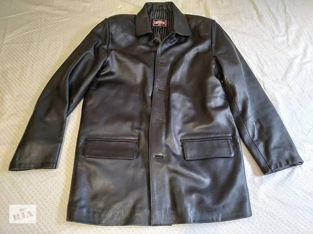 Чоловіча шкіряна куртка- объявление о продаже  в Херсоні