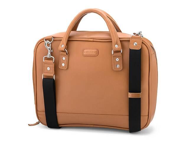 продам Мужская кожаная сумка-портфель для документов и ноутбука  LIMARY LMRYLB601 бу в Киеве