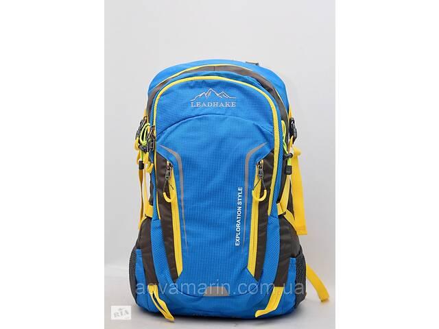 продам Мужской городской рюкзак Lead Hake металлическим каркасом + дождевик / чехол LeadHake бу в Дубно