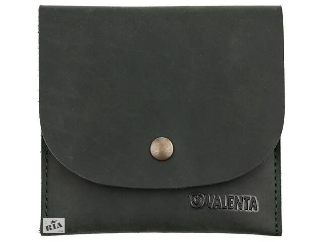 Мужской кошелек из натуральной кожи Valenta Encore зеленый- объявление о продаже  в Киеве