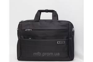 Мужской портфель в руку и через плечо с отделом под ноутбук