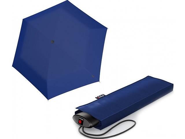 бу Мужской зонт механика Knirps AS.050 Slim Medium Manual, синий в Киеве