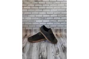 Мужские кожаные кроссовки 00631