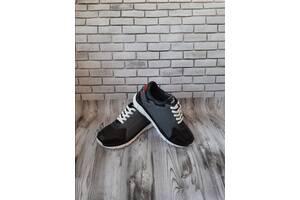 Мужские кожаные кроссовки 00635