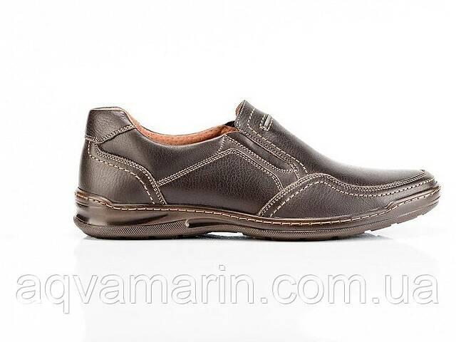 бу Мужские кожаные туфли Comfort Walk brown в Львове