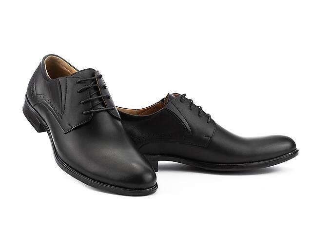 бу Мужские туфли кожаные весна/осень черные Stas 349-09-42 в Хмельницком