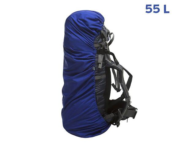купить бу Накидка на рюкзак Fram-Equipment Rain Cover M 55L синій (33030823) в Одессе