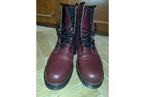 Новые кожаные сапоги женские 41 р