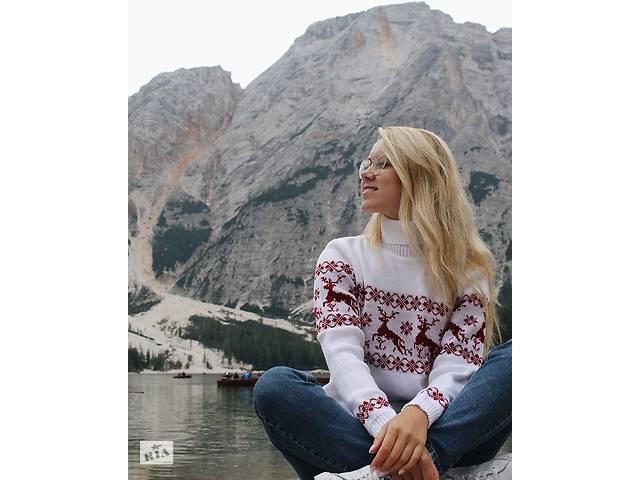 продам Новогодние женские семейные свитера с Оленями! Семейный комплект! бу в Львове