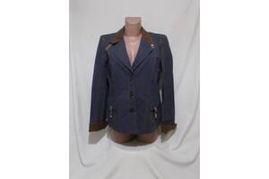 Новий жакет в джинсовому стилі бавовна-льон Riani 46р