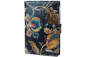 Обложка для паспорта Desisan Органайзер для документов кожаный DESISAN SHI102-415
