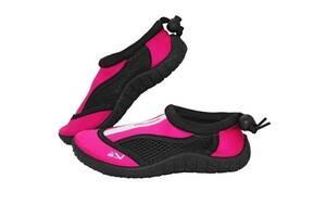 Обувь для пляжа и кораллов аквашузы SportVida Size 32 Black/Pink SKL41-277856