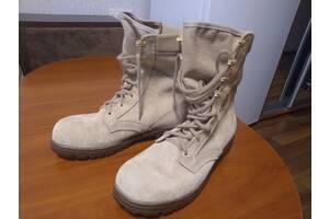 Оригинальные замшевые пустынные берцы 46 размер модели M92 Desert Combat Boots армии Нидерландов (Голландия)