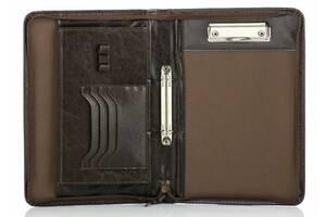 Папка для документов Solier коричневая