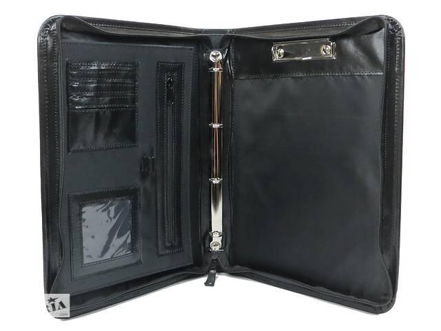 купить бу Папка из натуральной кожи A-art TS1003-2 черная в Киеве