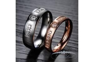 """Парные кольца для влюбленных """"Рождения Удачи"""" (жен. 15.9 16.5 17.3 18.2 муж. 17.3 18.2 19.0 20.0)"""