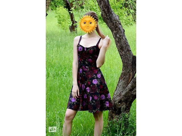 Платье в розах- объявление о продаже  в Сумах
