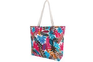 Пляжная сумка Valiria Fashion Женская пляжная тканевая сумка VALIRIA FASHION 3DETAL1812-10