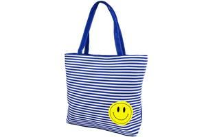 Пляжна сумка Valiria Fashion Жіноча пляжна тканинна сумка VALIRIA FASHION 3DETAL1813-1