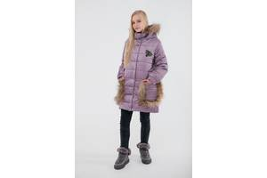 Продам стильную зимнюю куртку, натуральный мех, отстёгивается!!!