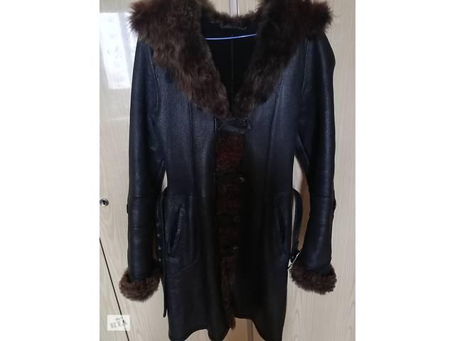 продам Продаю красивую стильную Дубленку Женскую 42-46 размер из натурального меха. бу в Киеве
