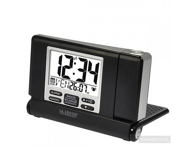 продам Проекционные часы La Crosse WT525-Black/Silver 923252 бу в Киеве