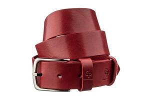 Ремень женский кожаный GRANDE PELLE 11262 Красный