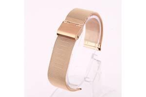 Ремешок для часов Mesh steel design bracelet Universal, 22 мм. Rose gold