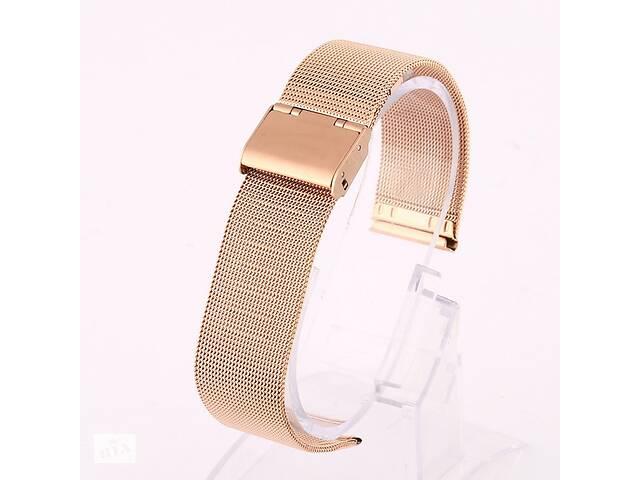 бу Ремешок для часов Mesh steel design bracelet Universal, 22 мм. Rose gold в Запорожье