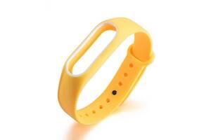 Ремешок для фитнес браслета Xiaomi Mi Band 2 Yellow