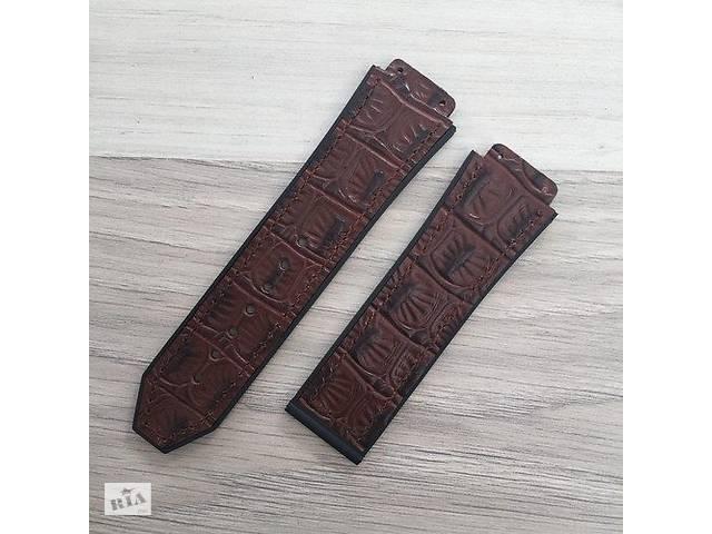 Ремешок Hublot 26/22 Brown- объявление о продаже  в Одессе