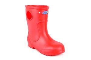 Резиновые сапоги детские для мальчика EVA Jose Amorales Джибитсы 34 р Красный (joa_116604_3)