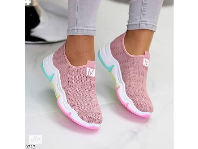Розовые текстильные кроссовки, кроссовки Velocity 38-40р- объявление о продаже  в Ровно