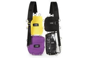 Рюкзак для города Eastpak  Raf Simons Pocketbag Loop Quote, разноцветный 6л
